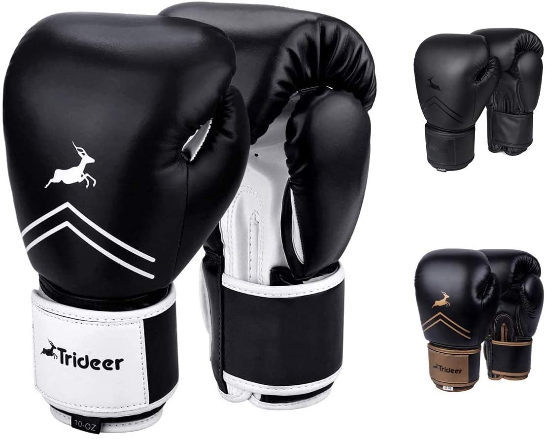 trideer pro boxing gloves